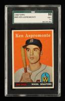 Ken Aspromonte 1958 Topps #405 RC (SGC 7.5) at PristineAuction.com