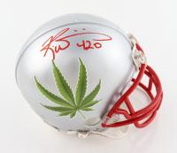 "Ricky Williams Signed Mini Helmet Inscribed ""420"" (JSA COA) (See Description) at PristineAuction.com"