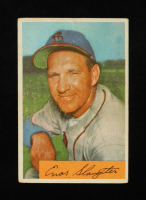 Enos Slaughter 1954 Bowman #62 at PristineAuction.com