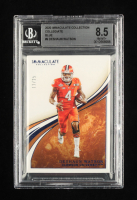 Deshaun Watson 2020 Immaculate Collection Collegiate Blue #9 #11/25 (BGS 8.5) (See Description) at PristineAuction.com