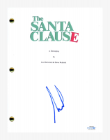 "Tim Allen Signed ""The Santa Clause"" Movie Script (AutographCOA COA) at PristineAuction.com"