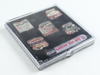 2007 Red Sox World Series LE Factory Sealed Set Of (5) Pins at PristineAuction.com