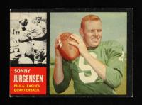 Sonny Jurgensen 1962 Topps #115 at PristineAuction.com