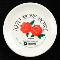 1970 Vintage Rose Bowl Ceramic Dish at PristineAuction.com