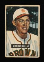 Sherm Lollar 1951 Bowman #100 at PristineAuction.com