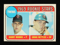 Danny Morris / Graig Nettles 1969 Topps #99A Rookie Stars RC at PristineAuction.com