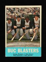 Smoky Burgess / Dick Stuart / Bob Clemente / Bob Skinner 1963 Topps #18 Buc Blasters at PristineAuction.com