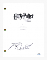 """Daniel Radcliffe Signed """"Harry Potter and the Goblet of Fire"""" Movie Script (AutographCOA COA) at PristineAuction.com"""