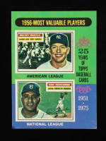 Mickey Mantle / Don Newcombe 1975 Topps #194 MVP at PristineAuction.com