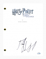 """Daniel Radcliffe Signed """"Harry Potter and the Order of the Phoenix"""" Movie Script (AutographCOA COA) at PristineAuction.com"""