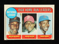 Willie McCovey / Richie Allen / Ernie Banks 1969 Topps #6 NL Home Run Leaders at PristineAuction.com