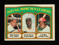 Willie Stargell / Hank Aaron / Lee May 1972 Topps #89 NL Home Run Leaders at PristineAuction.com