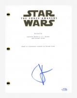 "J. J. Abrams Signed ""Star Wars: The Force Awakens"" Movie Script (AutographCOA COA) at PristineAuction.com"