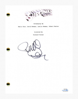 "Richard Donner Signed ""Superman The Movie"" Movie Script (AutographCOA COA) at PristineAuction.com"