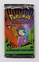 2000 Pokemon TCG Gym Challenge 1st Edition Booster Pack with (11) Cards - Sabrina Art at PristineAuction.com