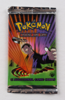 2000 Pokemon TCG Gym Challenge 1st Edition Booster Pack with (11) Cards - Giovanni Art at PristineAuction.com