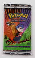 2000 Pokemon TCG Gym Challenge 1st Edition Booster Pack with (11) Cards - Koga Art at PristineAuction.com