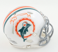 Ricky Williams Signed Dolphins Throwback Speed Mini Helmet (JSA COA) at PristineAuction.com
