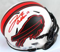 Josh Allen Signed Bills Lunar Eclipse Alternate Speed Mini Helmet (Beckett Hologram) at PristineAuction.com