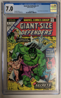 """1974 """"Giant-Size Defenders"""" Issue #1 Marvel Comic Book (CGC 7.0) at PristineAuction.com"""