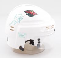 Luke Kunin Signed Wild Logo Mini Helmet (Kunin COA) at PristineAuction.com