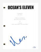 """Matt Damon Signed """"Ocean's Eleven"""" Movie Script (AutographCOA COA) at PristineAuction.com"""