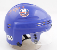 Johnny Boychuk Signed Islanders Logo Mini Helmet (Boychuk COA) at PristineAuction.com