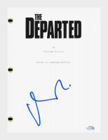"""Matt Damon Signed """"The Departed"""" Movie Script (AutographCOA COA) at PristineAuction.com"""