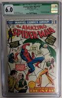 "1973 ""Amazing Spider-Man"" Issue #127 Marvel Comic Book (CGC Qualified 6.0) at PristineAuction.com"