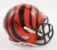 Tee Higgins Signed Bengals Speed Mini Helmet (JSA COA) at PristineAuction.com