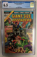 """1974 """"Giant-Size Defenders"""" Issue #2 Marvel Comic Book (CGC 6.5) at PristineAuction.com"""