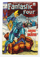 """1969 """"Fantastic Four"""" Issue #93 Marvel Comic Book (See Description) at PristineAuction.com"""