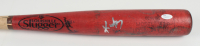 Kevin Youkilis Signed Game-Used Louisville Slugger Baseball Bat (JSA Hologram) at PristineAuction.com