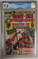 """1974 """"Giant-Size Spider-Man"""" Issue #2 Marvel Comic Book (CGC 7.5) at PristineAuction.com"""
