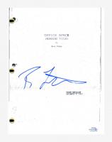 "Ron Livingston Signed ""Office Space"" Movie Script (AutographCOA COA) at PristineAuction.com"