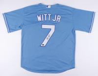 Bobby Witt Jr. Signed Jersey (Beckett Hologram) at PristineAuction.com