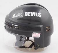 Jesper Bratt Signed Devils Mini Helmet (YSMS COA) at PristineAuction.com