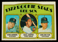 Mike Garman / Cecil Cooper RC / Carlton Fisk RC 1972 Topps #79 Rookie Stars at PristineAuction.com