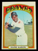 Hank Aaron 1972 Topps #299 at PristineAuction.com