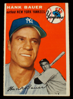 Hank Bauer 1954 Topps #130 at PristineAuction.com