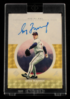Greg Maddux 2021 Topps Transcendent Hall of Fame Icons Autographs #HOFIAGM #1/1 at PristineAuction.com