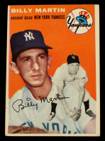 Billy Martin 1954 Topps #13 at PristineAuction.com