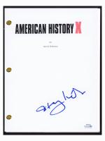 "Stacy Keach Signed ""American History X"" Movie Script (AutographCOA COA) at PristineAuction.com"