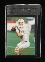 Peyton Manning 1998 Fleer Tradition #235 RC (Beckett Raw Card Review 9) at PristineAuction.com