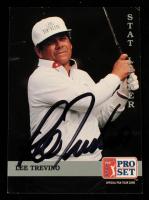 Lee Trevino Signed 1992 Pro Set #271 SL (JSA COA) at PristineAuction.com