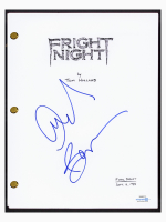 "Amanda Bearse Signed ""Fright Night"" Movie Script (AutographCOA COA) at PristineAuction.com"