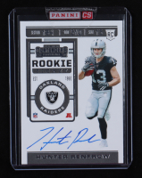 Hunter Renfrow 2019 Panini Contenders #139A Auto RC at PristineAuction.com