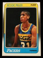 Reggie Miller 1988-89 Fleer #57 RC at PristineAuction.com