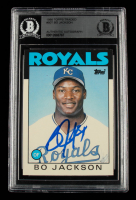 Bo Jackson Signed 1986 Topps Traded #50T XRC (BGS Encapsulated) at PristineAuction.com