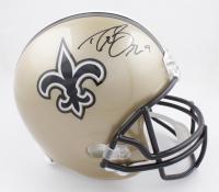 Drew Brees Signed Saints Full-Size Helmet (Beckett COA & Brees Hologram) (See Description) at PristineAuction.com